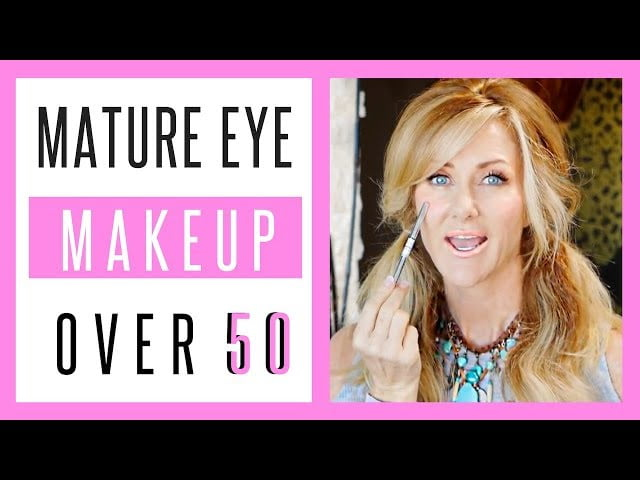 Mature Eye Makeup Tutorial – How To Make Your Eyes Look Bigger over 50s – fabulous50s