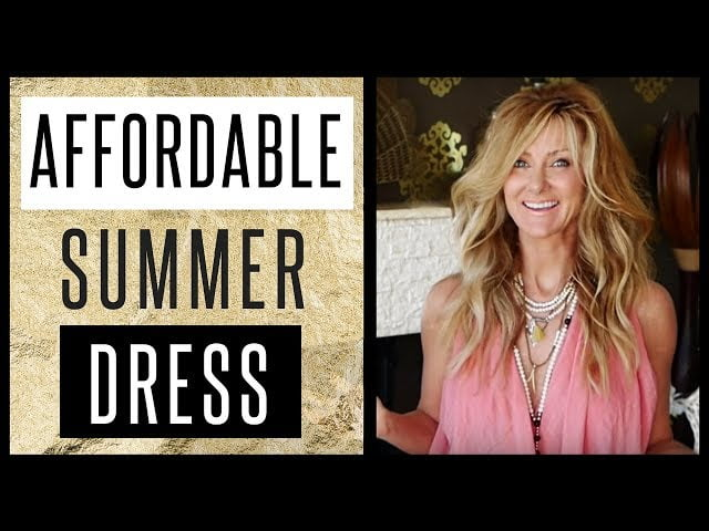D.I.Y Must Have Dress For Spring Summer 2018 – Never Seen Before – Easy to make -fabulous50s
