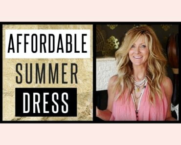 Affordable D.I.Y Perfect Summer Dress | Best Dressed On A Budget | Never Seen Before
