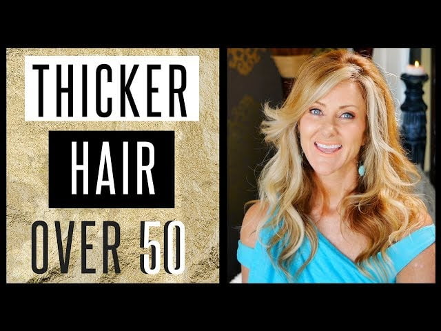Get Very Thick Healthy Hair After 50 Naturally 2018 – fabulous50s
