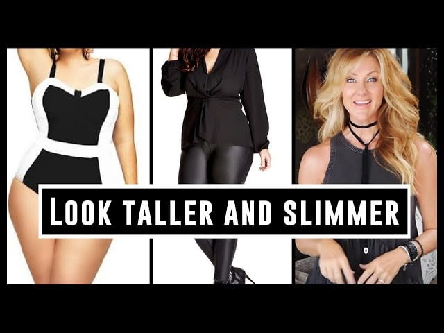 Style An Outfit To Look Taller & Slimmer Over 50 Dress Skinny 2018