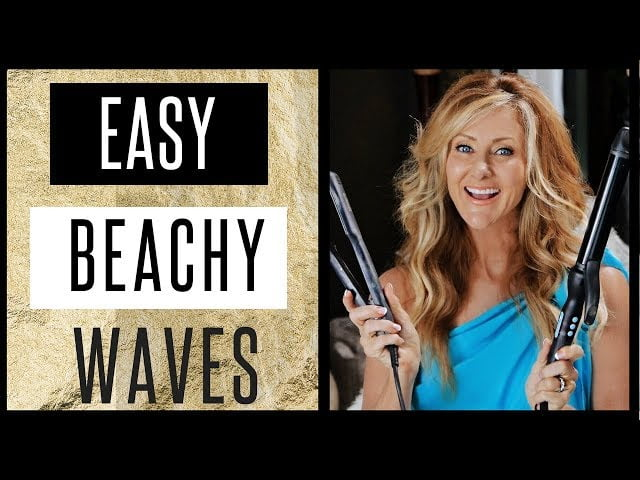 Easy Beachy Wave Tutorial For Perfect Summer Hair – 2018 – fabulous50s