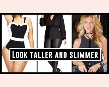 style an outfit to look taller & slimmer