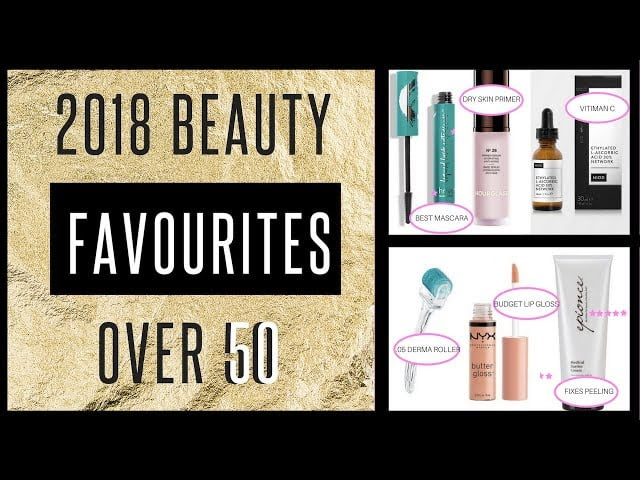 Favourite Beauty & Anti Aging Products Over 50 2018 – fabulous50s