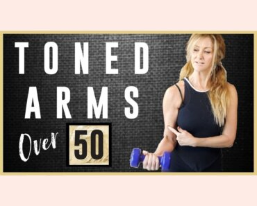 Toned arm workout for women over 50