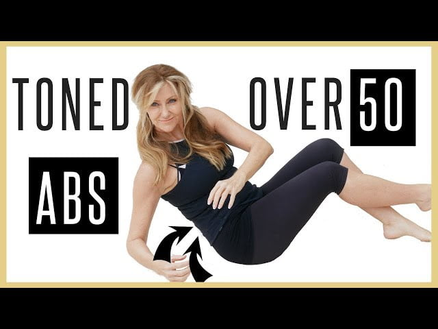 Toned Abs Workout For Women Burn Belly Fat Fast!