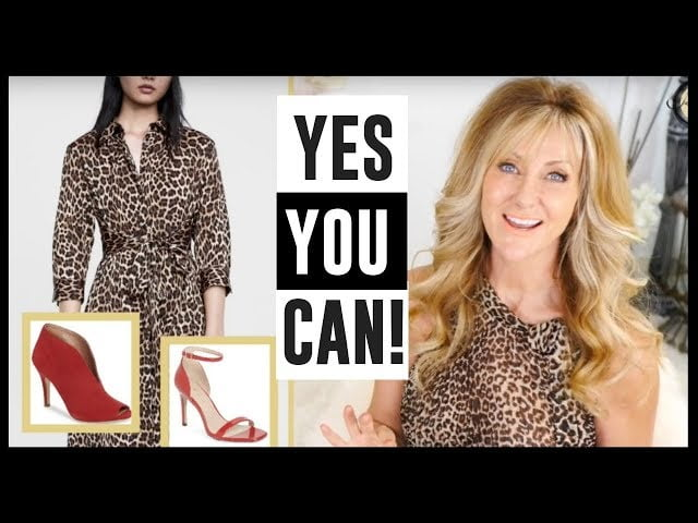 OVER 50 STYLE TIPS | HOW TO WEAR ANIMAL PRINT!
