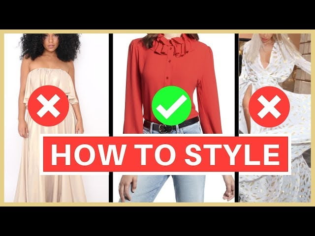 AVOID COMMON FASHION MISTAKE USING THIS RULE!