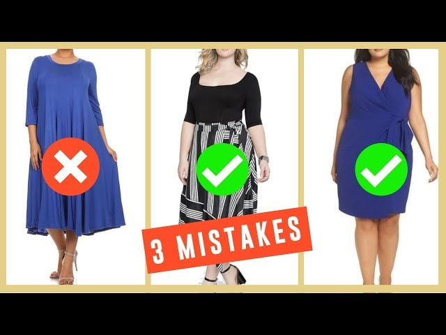 3 BIG FASHION MISTAKES THAT MAKE YOUR TUMMY LOOK BIGGER! HOW TO HIDE YOUR TUMMY! FABULOUS50S