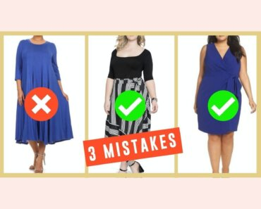 3 Big Fashion Mistakes That Make Your Tummy Look Bigger! How To Hide Your Tummy