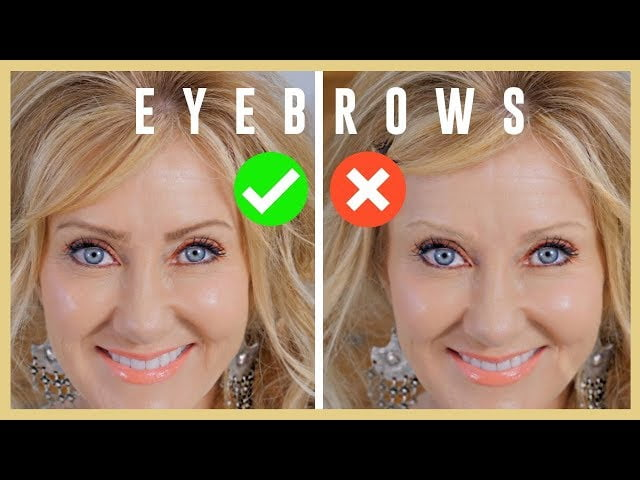 How To Eyebrow Tutorial For Women With Mature Eyes