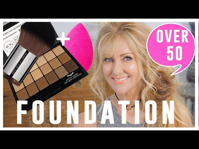Top Foundation Tips For Women Over 50