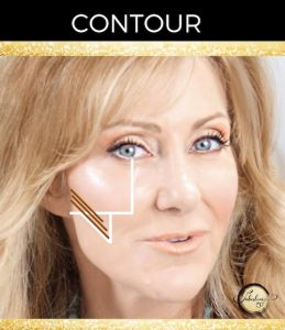 Contour For Mature Cheeks Over 50