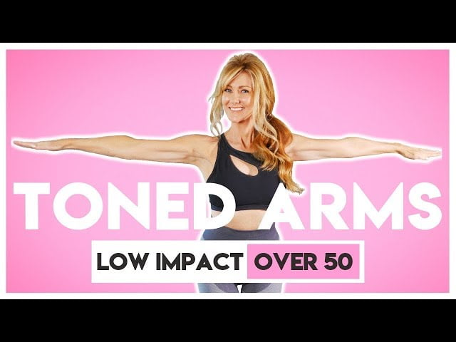 TONED ARM Workout For Women Over 50 fabulous50s