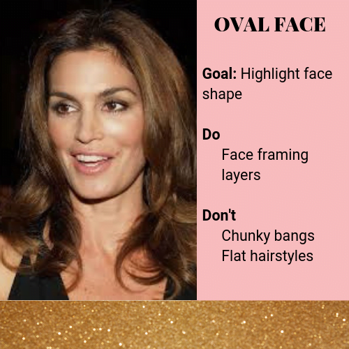 real oval face