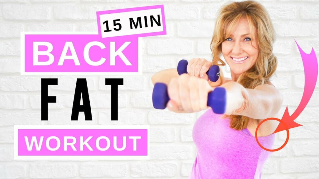 15 Minute Back Workout With Dumbbells