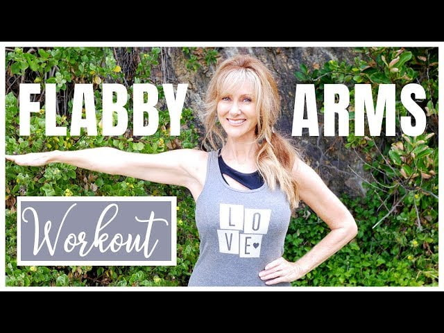 DO THIS EVERY MORNING TO LOSE FLABBY ARMS!