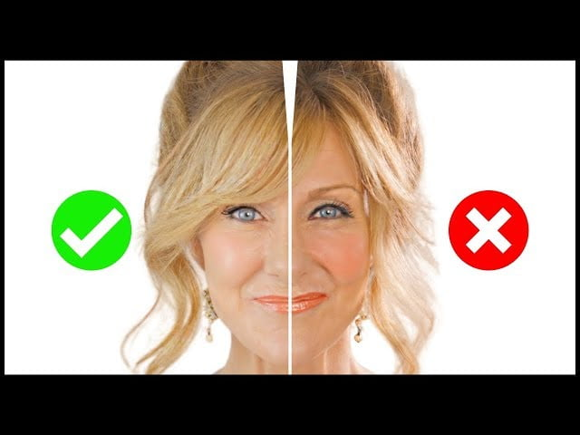 5 MAKEUP MISTAKES On Mature Skin Over 50