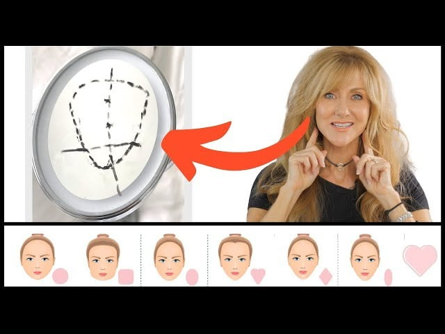 HAIR TRICKS TO MAKE YOU LOOK YOUNGER | HAIR STYLE GUIDE FOR FACE SHAPE!