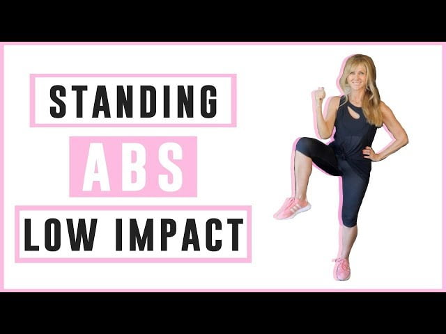 6 MINUTE STANDING ABS WORKOUT OVER 50 LOW IMPACT!