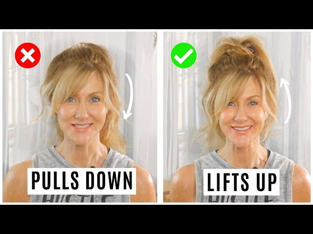 SERIOUSLY EASY PONYTAIL TRICK TO LOOK YOUNGER