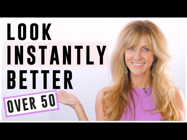 HOW TO INSTANTLY LOOK BETTER AND STAY VITAL OVER 50!