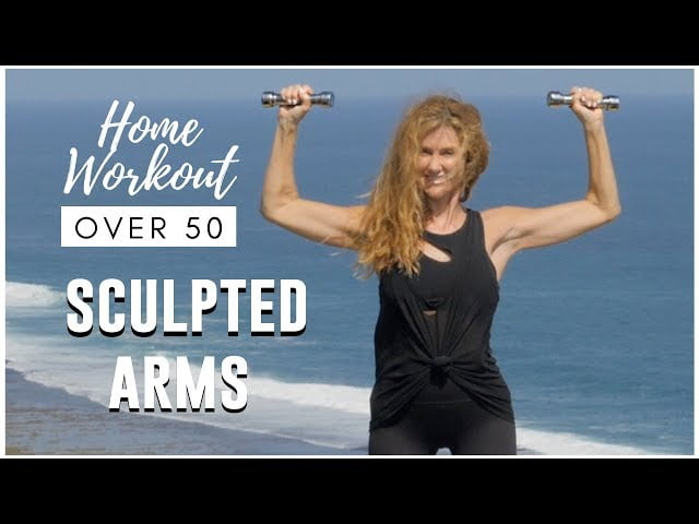 7 MINUTE SCULPTED ARM WORKOUT FOR WOMEN OVER 50!