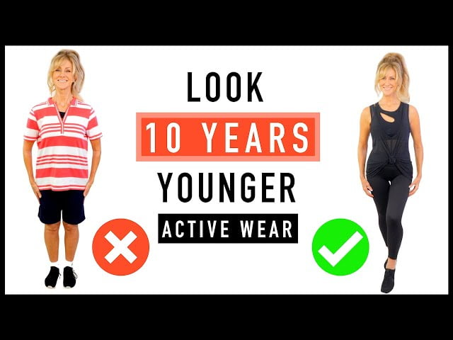 ACTIVE WEAR STYLE TIPS FOR MATURE WOMEN!