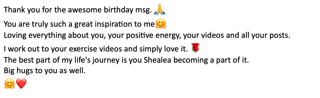 awesome birthday message