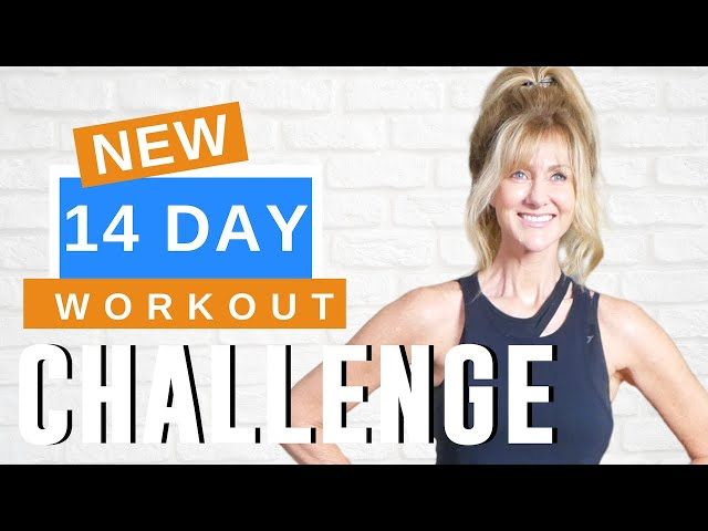14 DAY WORKOUT CHALLENGE | LOSE WEIGHT GET FIT AND TONE MUSCLES!