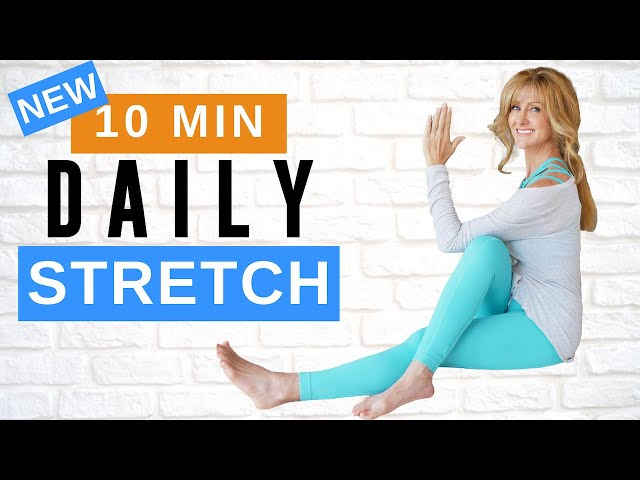 10 MINUTE FULL BODY STRETCHING ROUTINE!