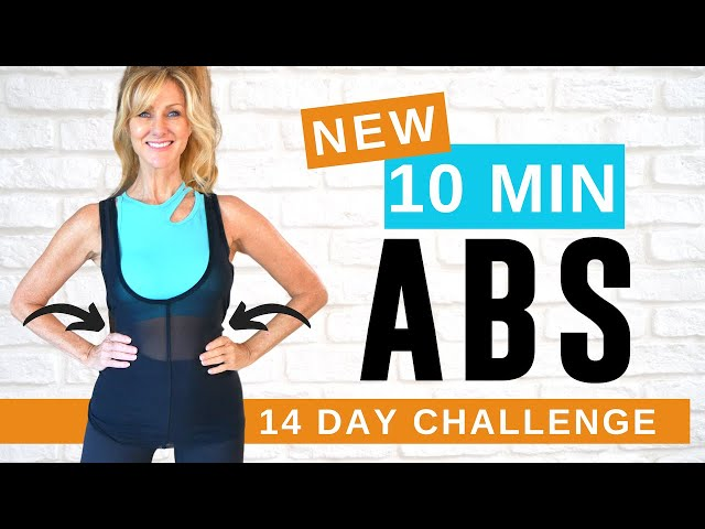 10 MINUTE AB WORKOUT FOR WOMEN OVER 50 | REDUCE BELLY FAT FAST!