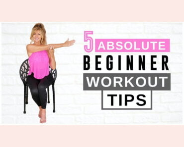 ABSOLUTE BEGINNER Home Workout Fitness Tips For Women Over 50!