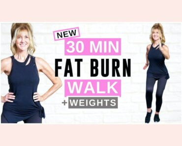 30 Minute FAT BURNING Walking Workout For Women Over 50!