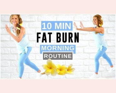 10 Minute Fat Burning Morning Routine | Low Impact Cardio!