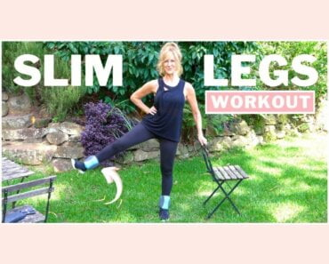 10 Minute Slimming And Toning Leg Workout | Ankle Weights!
