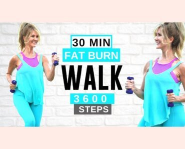 30 Minute FAT BURNING Walking Workout | Get Fit LOSE WEIGHT Low Impact!