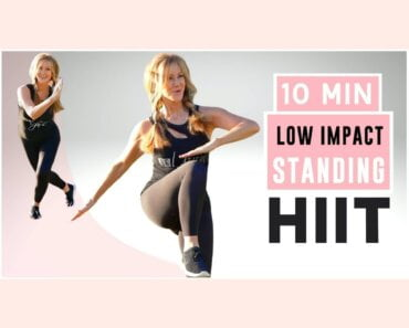 10 Minute FAT BURNING HIIT | High Intensity Low Impact!