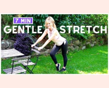 7 Minute DAILY MORNING STRETCH! Relaxing Standing Stretches!