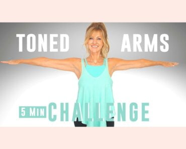5 Minute Tone Your Arms Workout CHALLENGE! No Equipment