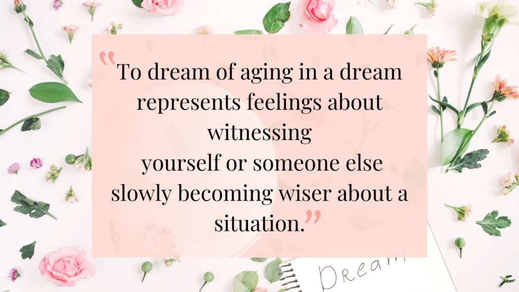 Top 7 Age Related Dreams
