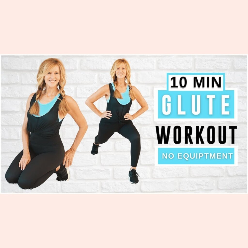 10 Minute Booty Burn Workout For Women Over 50