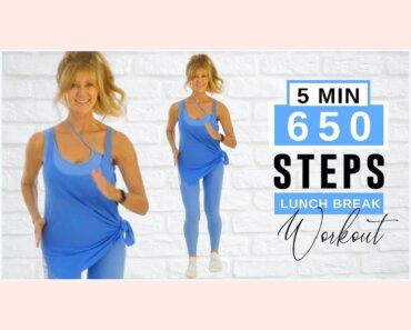 5 Minute Fast Walk | 650 STEPS!