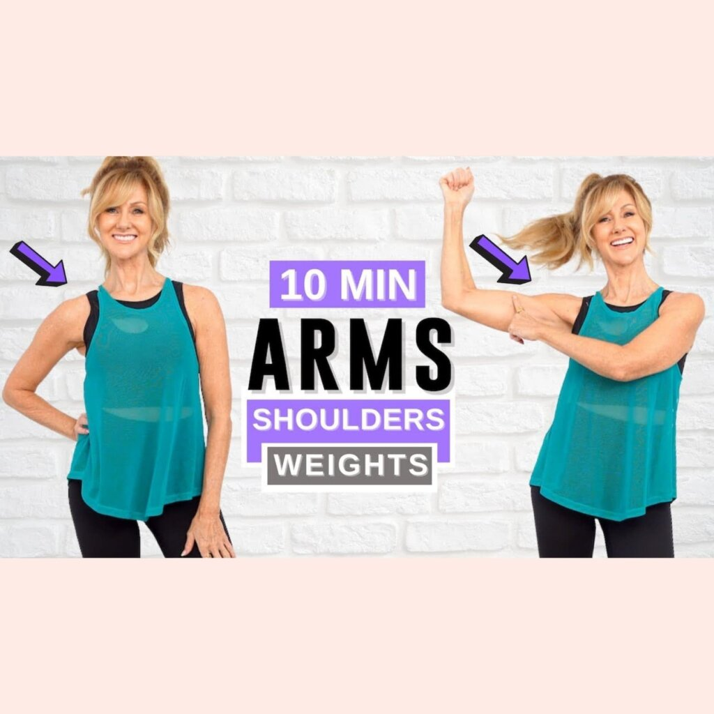 10 Minute Arm And Shoulder Workout 10 Minute Arm And Shoulder Workout With Dumbbell Weights! Dumbbell Weights!