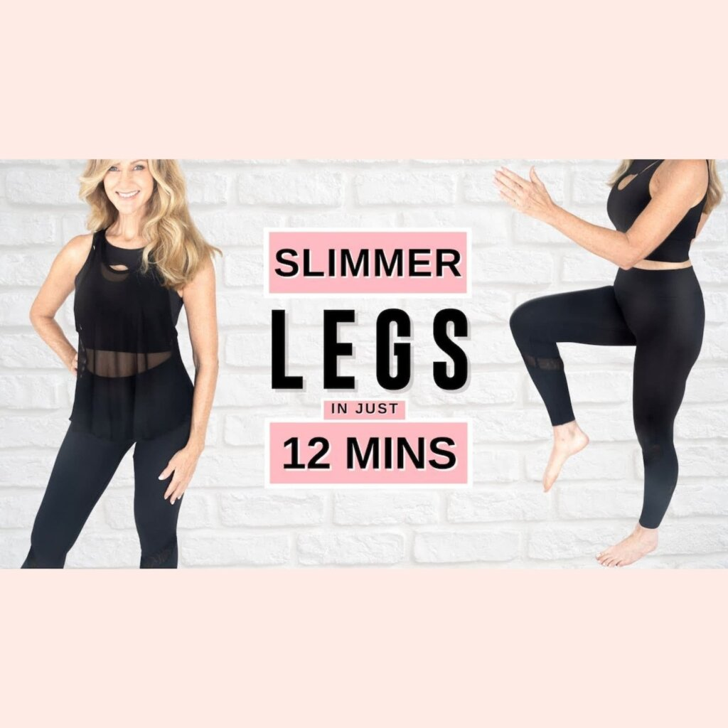 12 Minute SLIM LEG Workout *It Really Works!*