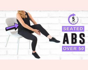 Lose Belly Fat Sitting Down | 5 Minute AB WORKOUT