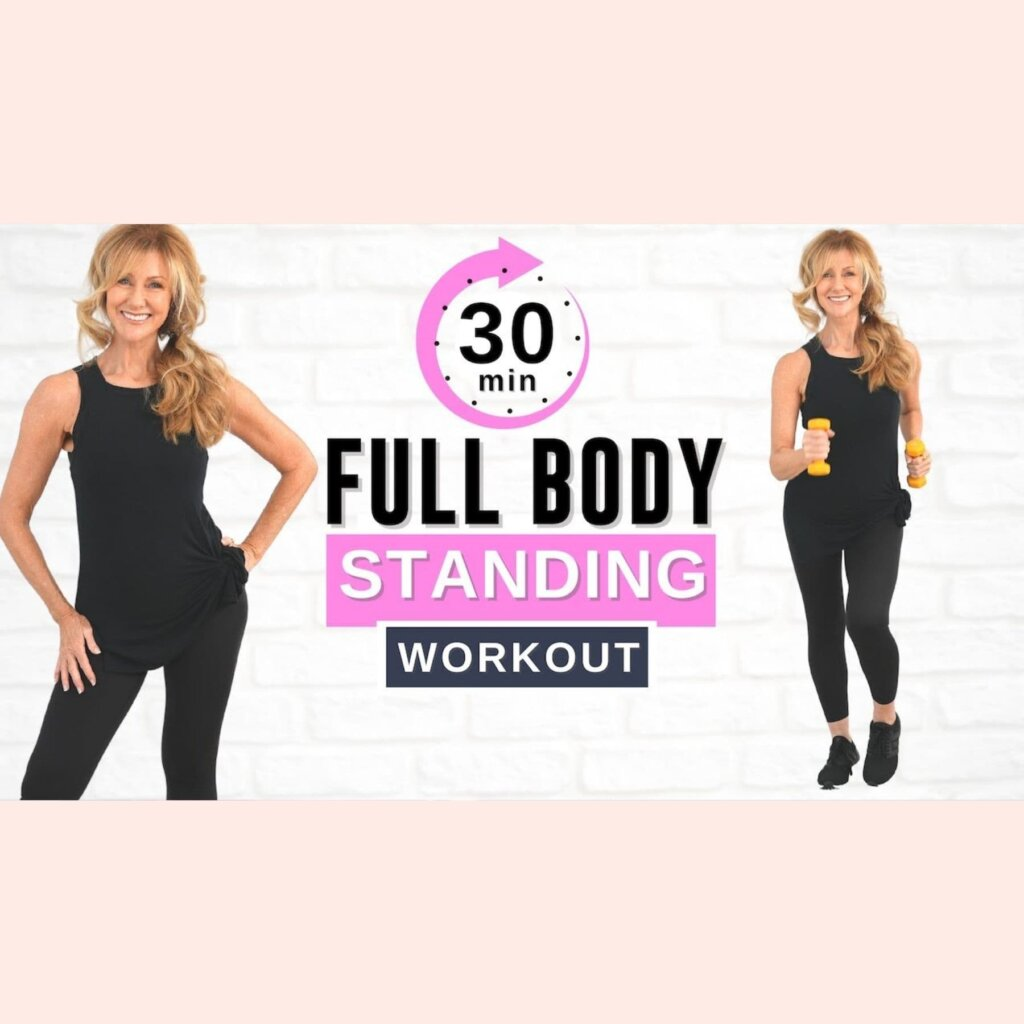 30 Minute GET FIT Full Body Standing Workout | Low Impact!
