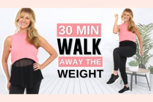 30 Minute Walk At Home | Full Body Fat Burning Cardio Workout!