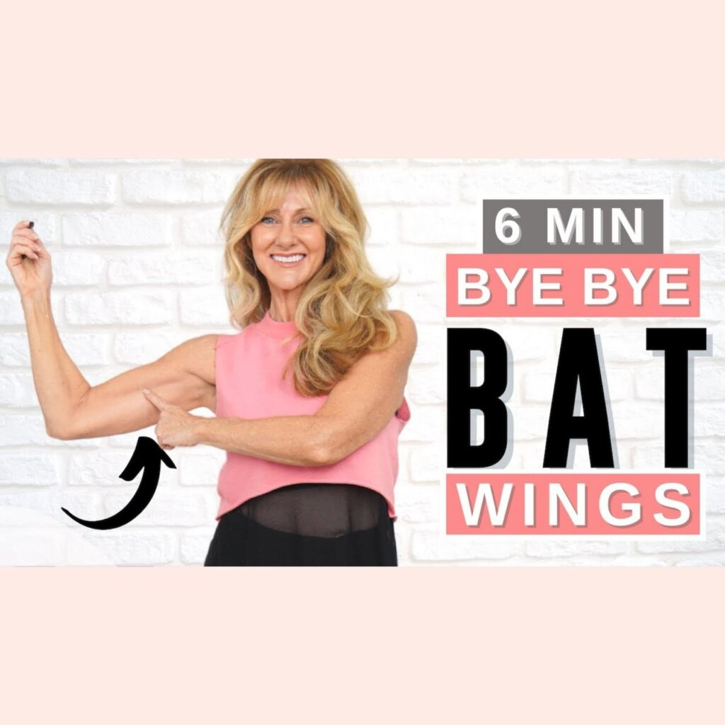 5 Minute Toned Arm Workout To Get Rid Of Batwings | No Equipment!