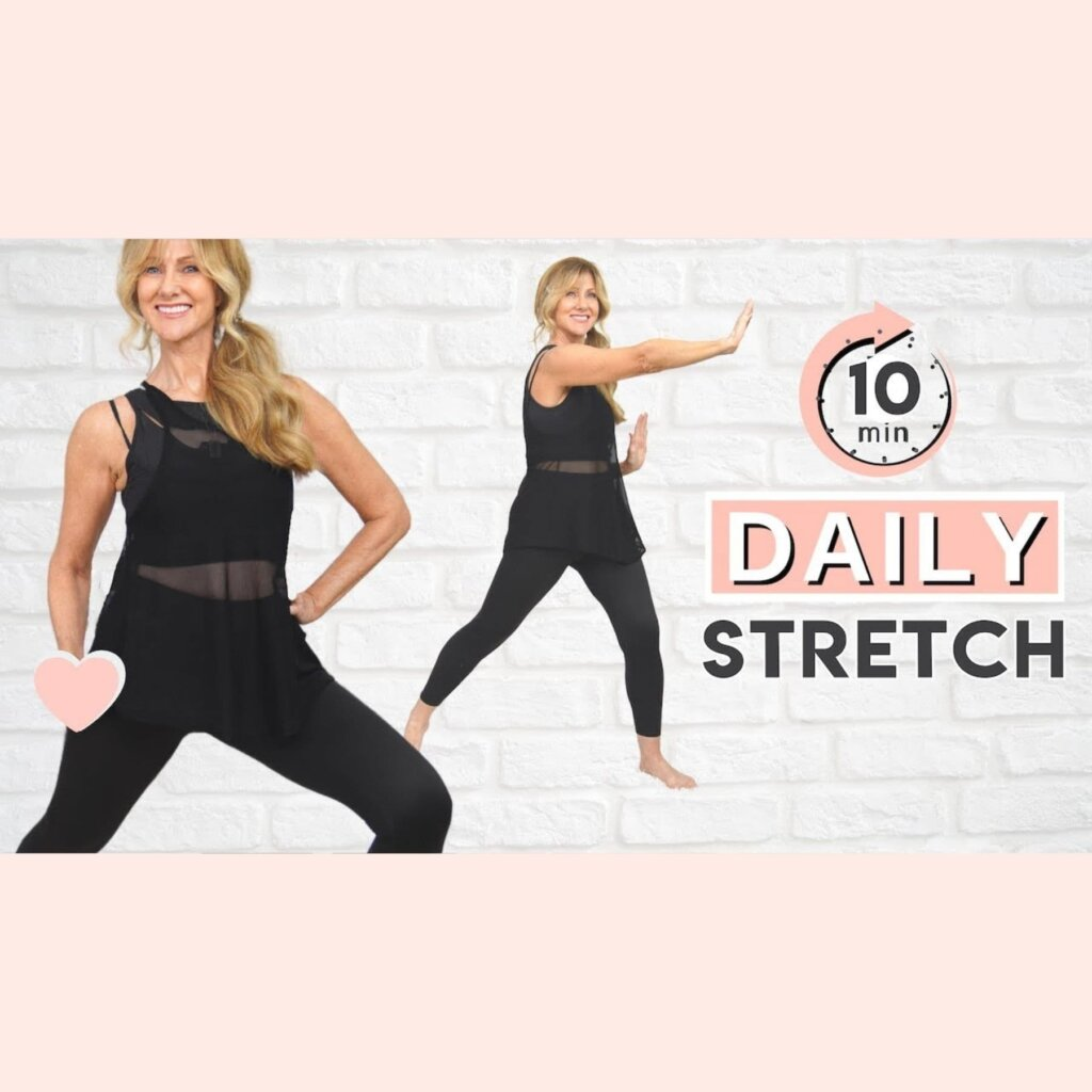 10 Minute Daily Stretching Routine For Women Over 50!